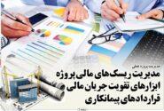 مقاله مدیریت ریسک های مالی پروژه در قراردادهای پیمانکاری